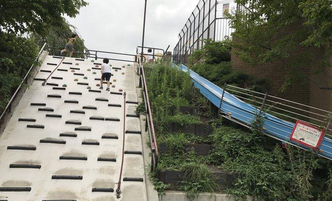横浜市福富町西公園地下駐車場