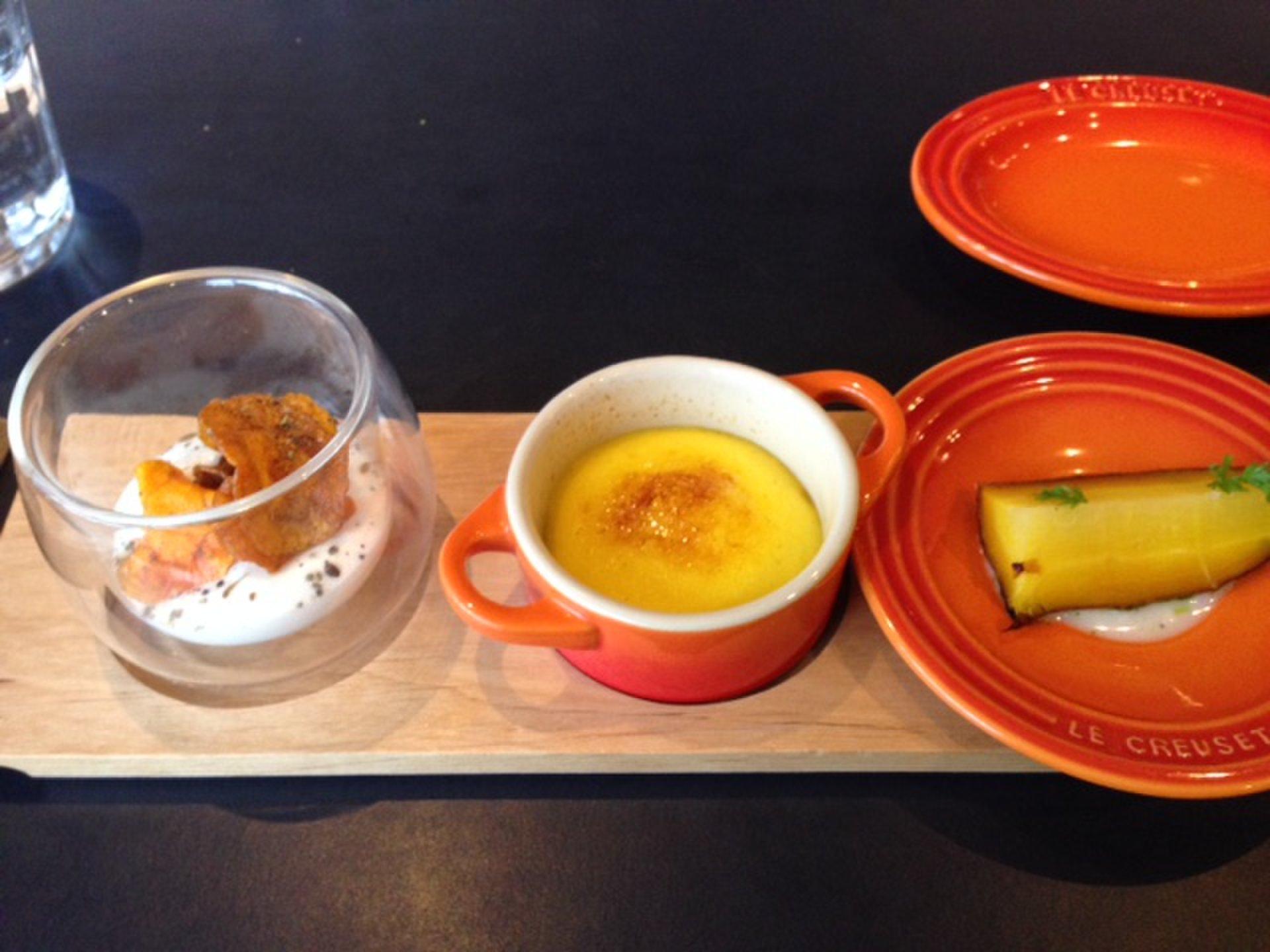 札幌 人気パン店コロン×ル・クルーゼがコラボのオシャレなレストランランチの後は、オーガニックカフェ♪