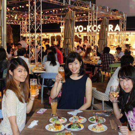 Roof Top Beer Garden 東京小空