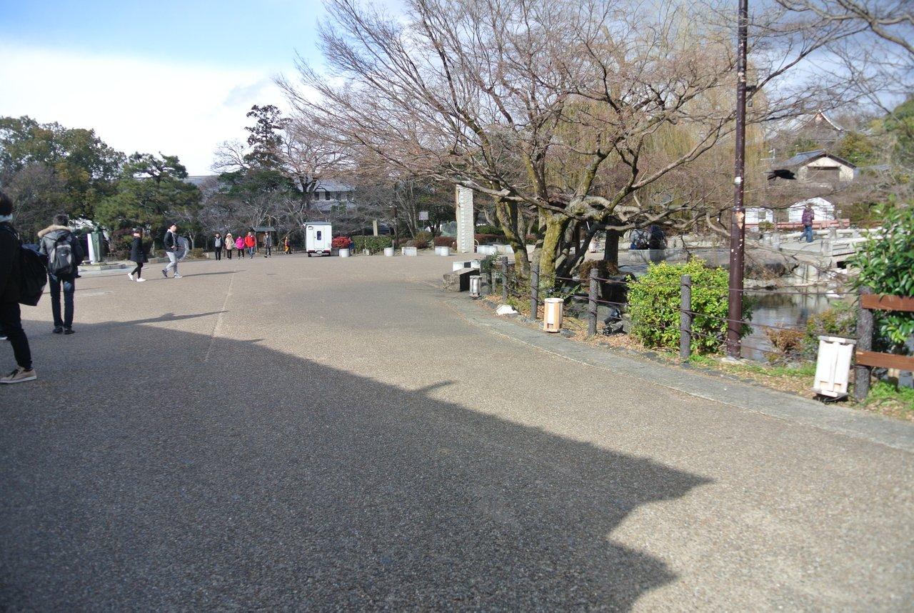 円山公園(将軍塚周域)