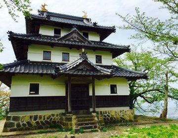 【鳥取県中部で楽しむ森林浴】緑色の山道を抜けて山陰の天空の城羽衣石城へ