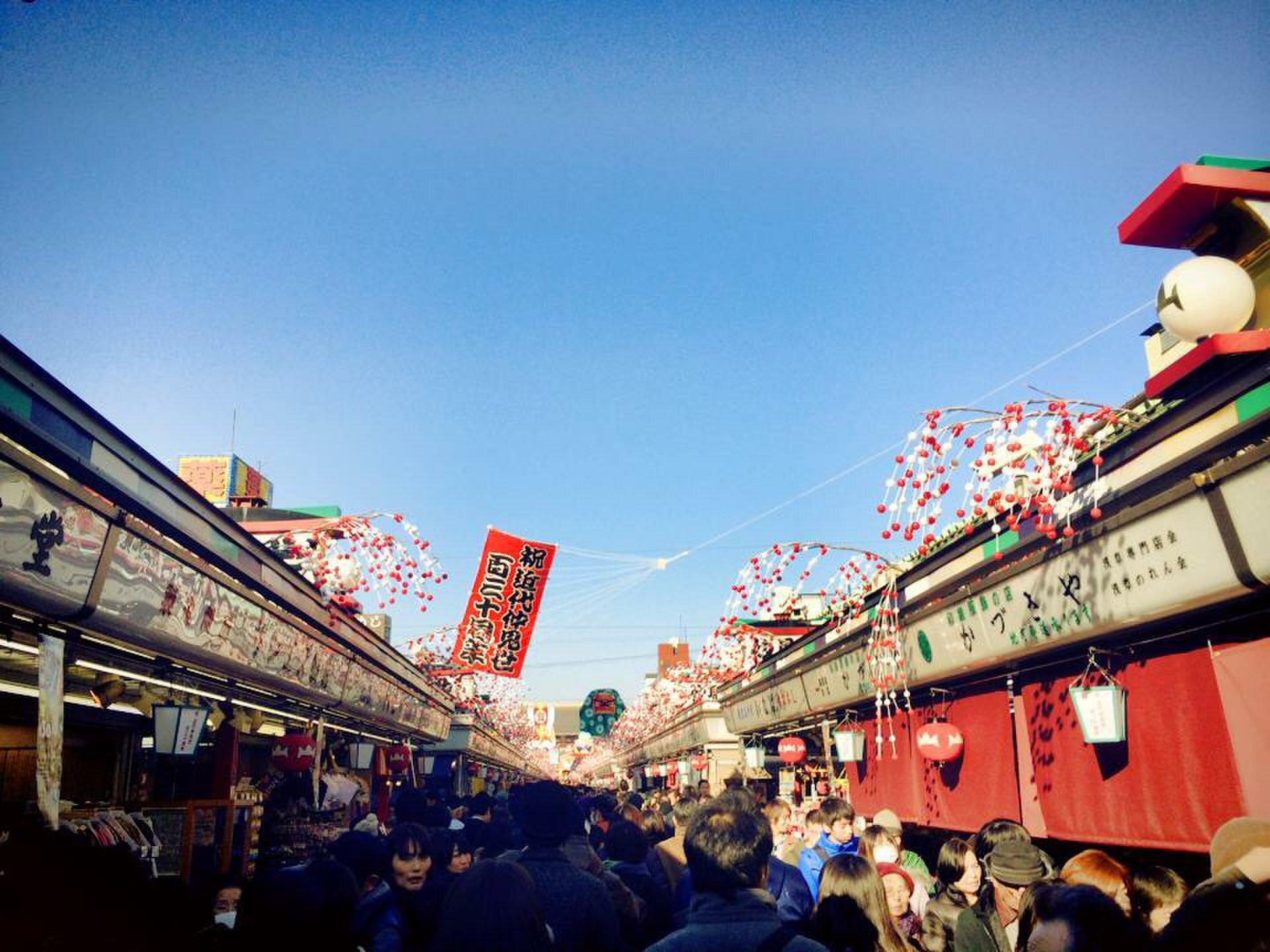 【浅草寺〜スカイツリー散歩】浅草周辺スイーツを食べてスカイツリーへ!