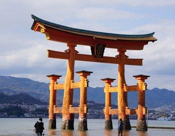 【3人家族の宮島旅行・島内観光編】世界遺産・厳島神社の大鳥居は想像以上にもの凄い迫力だった!