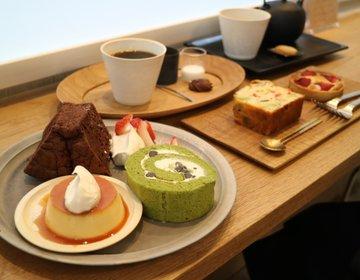 大阪市内からも意外と近い!堺にある人気のカフェの、可愛いスイーツや美しいプレート♡