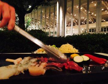 カラフルな前菜とデザートも楽しめるレディースBBQ@東京プリンス
