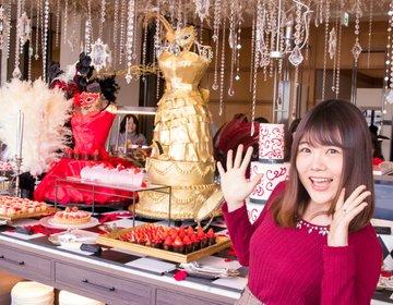 【完食チャレンジ】約30種類のいちごブッフェ「ヒルトン東京お台場」で魅惑のスイーツを可愛く食リポします♡