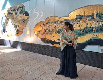 私が映画の主人公!侍になる!羽田空港でスタントマンアクション撮影