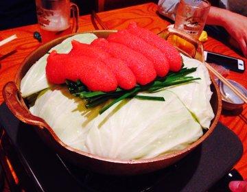 【築地の超人気店】めんたいモツ鍋で予約一ヶ月待ちの『ふく竹』に行ってみた!