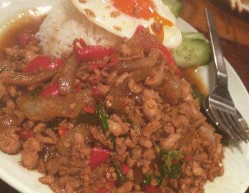 【エスニック料理・ガパオ食堂】タイ料理がおいしい!恵比寿店でわいわい飲み会☆
