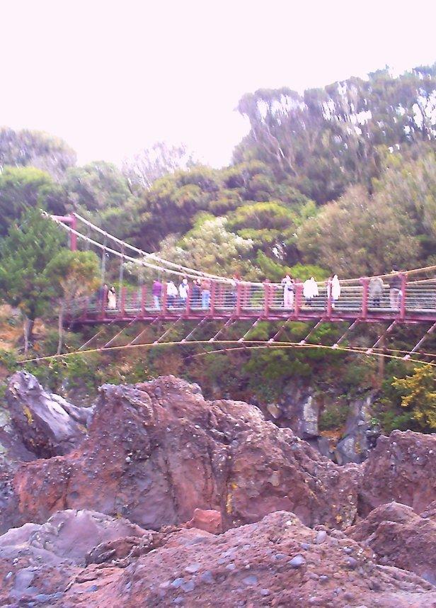 城ヶ崎つり橋 (門脇吊橋)