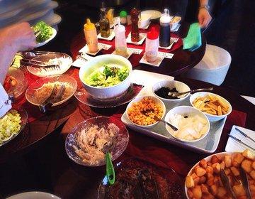 【神楽坂の野菜ビュッフェがあるリーズナブルなレストラン】ランチがおすすめの牡蠣BER