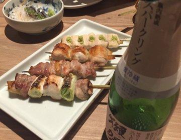 新橋・銀座 ディナー【貴重な東京しゃも】が食べられちゃう