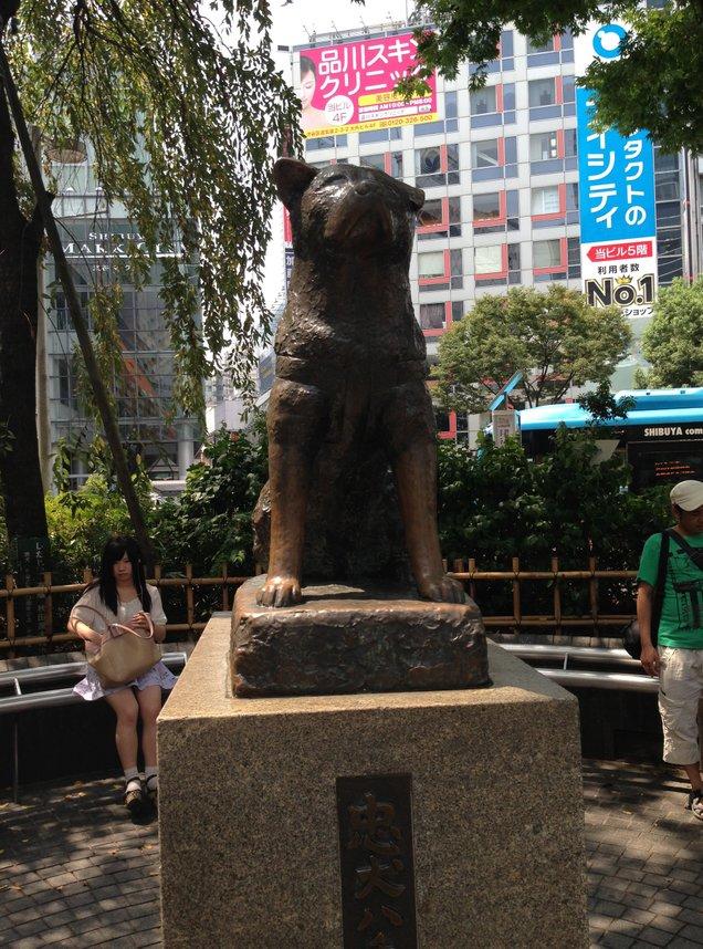 ハチ公前広場