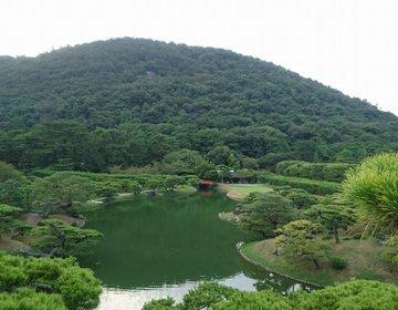 香川県はうどんだけじゃない!市内編『ミシュラン観光ガイド』で最高評価3つ星の有名な公園
