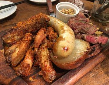 気まぐれ肉 イチボも入った肉盛合せ みんなでテラスでアジアを感じよう‼︎