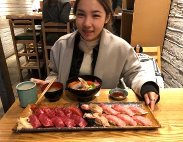 築地3,000円以下ランチ♡美味しい寿司~つな男ヒルナンデス!でも紹介