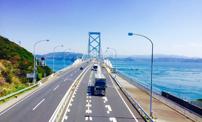 大鳴門橋 (徳島県鳴門市側)