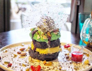 【ゆーきの実食レポ】乃木坂のおしゃれな隠れ家カフェで写真映え必至なピスタチオパンケーキ!