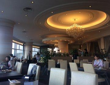 【お台場のおすすめ高級ホテルでランチビッフェ】シックなカフェ空間のロビーラウンジで優雅にランチ♡