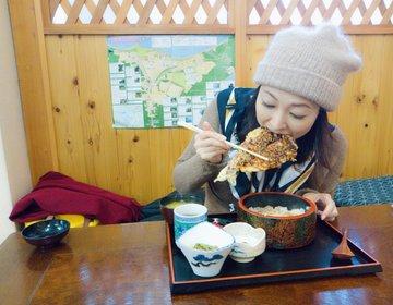 Bigヒメマス天丼にかぶりつく!十和田湖でランチを美味しく頂くならもりたさん!ガーリックポークも必見