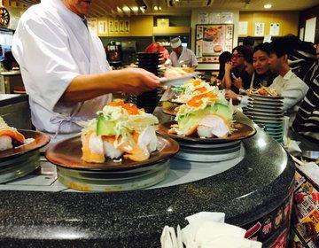 """【外国人観光客に人気!】安い!美味い!表参道のコスパが高い回転寿司屋""""平禄寿司"""""""