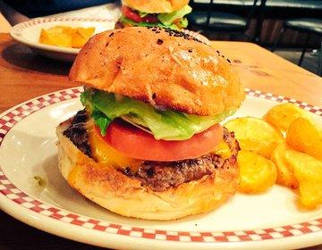 【田町ランチ・ハンバーガー】肉好きにはたまらない!120%満足!マンチズバーガーシャック!