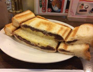 【名古屋グルメ・小倉トースト】駅から近い!リヨンでスイーツのようなモーニング