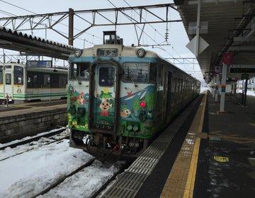 【会津若松から喜多方へ】東北地方のローカル線磐越西線で行くまち観光とご当地グルメの旅