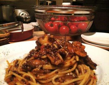 美味しいワインとイタリアンで呑み明かす。神田が放つ人気イタリア食堂 トレビ。