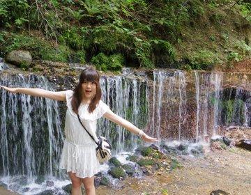 美効果◎軽井沢でマイナスイオンをたっぷり浴びる【白糸の滝】