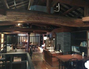 元醤油屋さんの納屋を改装した古民家カフェは時間が止まった様な静かな空間【安蔵里かふぇ】糸島ドライブ☆