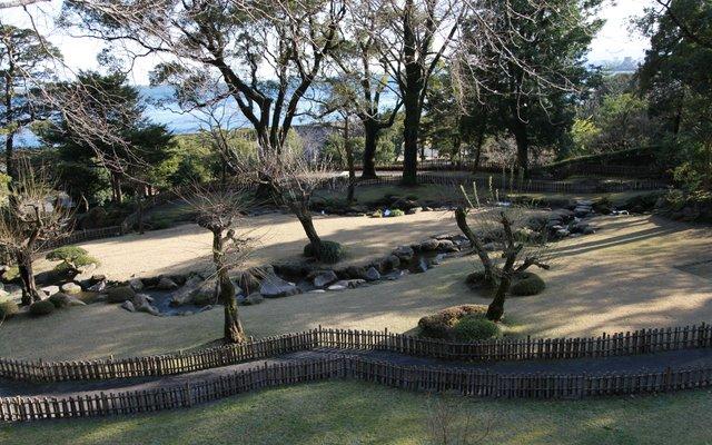 仙巌園 附 花倉御仮屋庭園 (磯庭園)