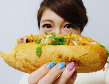 食べログ3.5超えの店!高田馬場にあるバインミーは一度食べたら病みつきサンドイッチだった。ランチも。