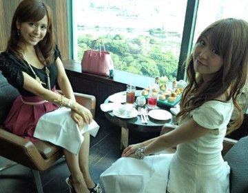 コンラッド東京の「トゥエンティエイト」でアフタヌーンティー女子会
