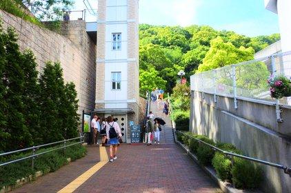 ハーブ園山麓駅(神戸布引ロープウェイ)