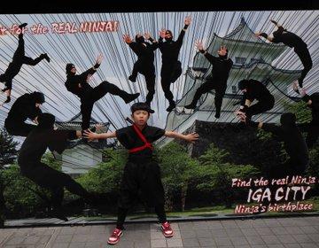 三重県・伊賀 忍者に変身して、上野城や伊賀流忍者博物館をかけめぐり、忍者体験!