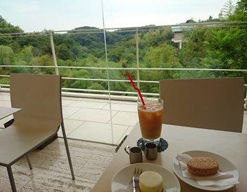 七里ヶ浜・鎌倉山デート【森の中の絶景カフェ 】絶品ケーキとパンでティータイムを