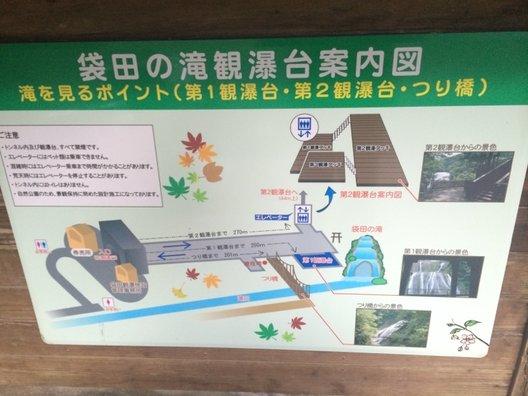 華厳滝 観瀑台