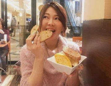コレド日本橋のオススメランチ。メゾンカイザーの美味しいパンが食べ放題のお得なランチはお腹いっぱい♡