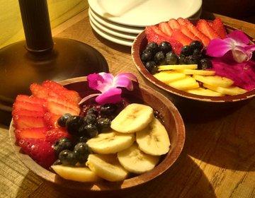 ハワイで女性に人気のヘルシーでお洒落なカフェならヘブンリー!可愛いアサイーボウル&ピタヤボウル