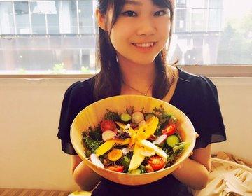 【話題の原宿オーガニックカフェ】オシャレなフラワーサラダが自慢の原宿オーガニックカフェ女子会♡