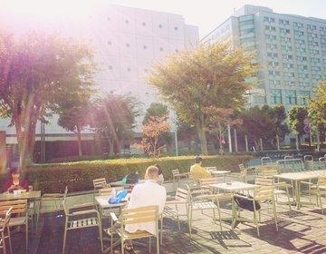 相鉄線沿いで長居できる安めカフェ・レストラン集合エリアならここ!星川駅近ビジネスパーク