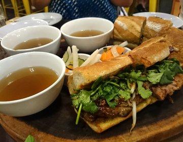 ハワイの本当に美味しすぎる!!ダウンタウンの話題の行列ベトナムレストラン。ランチに