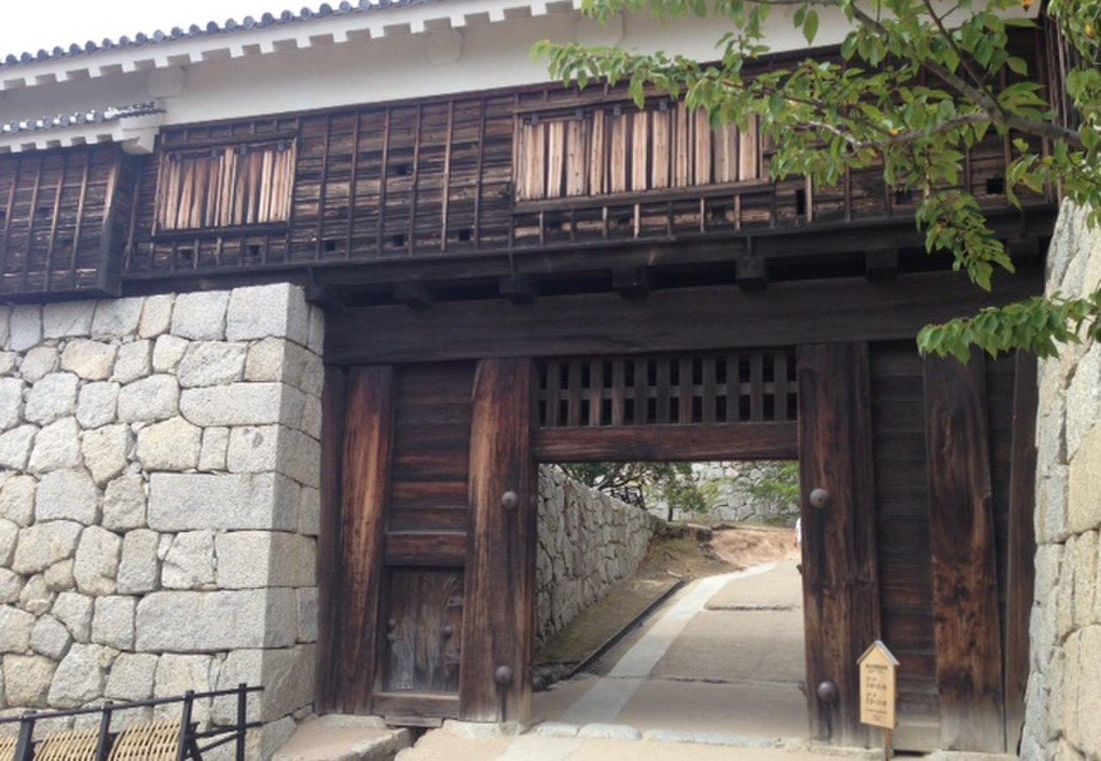 松山城 筒井門