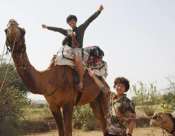 【インド】砂漠でホームステイ?!キャメルサファリでインドをさらに楽しもう♪