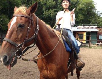 洞爺湖で気軽に乗馬体験⭐︎初心者も楽しめる40分コースは洞爺湖の羨望もステキ♩