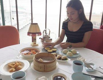 香港旅♡ラグジュアリーなおすすめ香港飲茶!おすすめ観光スポットハーバーシティ4階