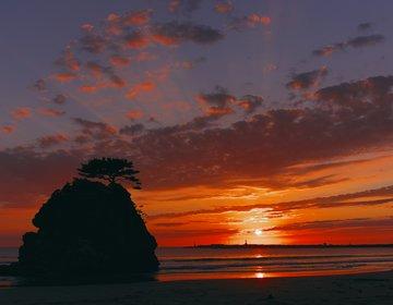 【島根県・出雲】出雲大社で縁結びを祈り、出雲そばを味わって、稲佐の浜で最高の夕日をのぞむ!