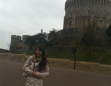 【英国王室御用達】ウィンザーと城下町散策☆カップケーキとタイ料理♡