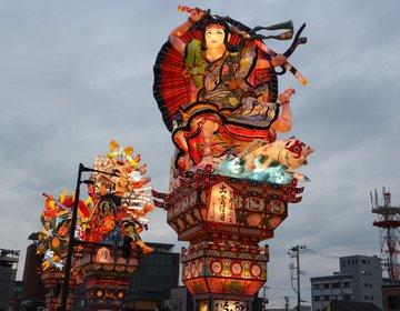 青森3大ねぶたのひとつ【五所川原立佞武多】東北の祭り見たい!意外と混んでないよ^^涼しいし♪
